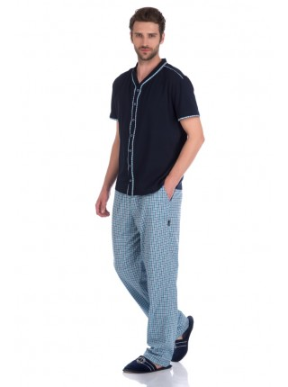 Домашний костюм DÉCHARGE №24 (PM 2231/1) (foncé (темно-синий))