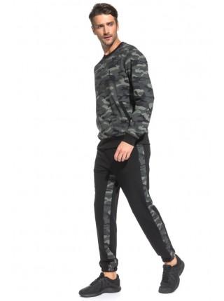 Костюм спортивный Camouflage (PM France 43) (черный-милитари)