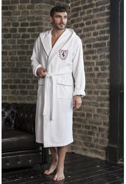 Махровый халат из бамбука Milano (EFW) (белый)
