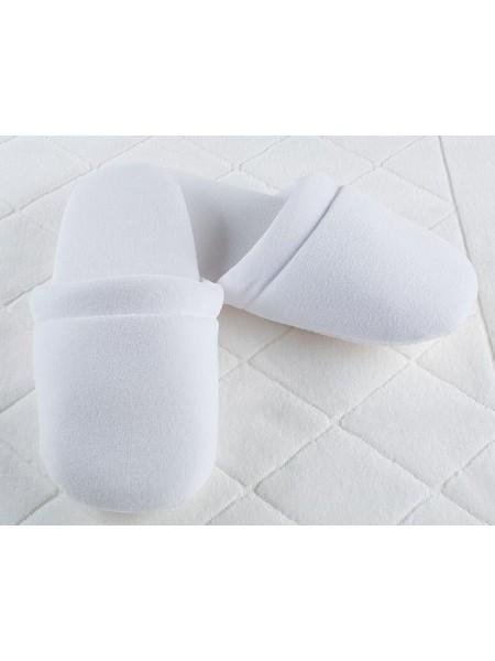 Велюровые тапочки подошва Soft Big (EVA 100-5-42) (белый)