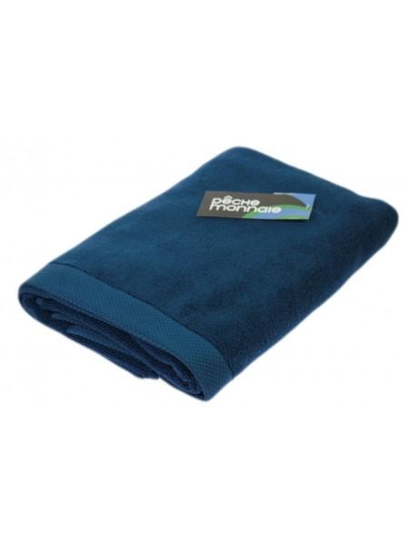 Банное махровое полотенце из микро-коттона OLYMPUS (PM) 50x100 см. (синий)