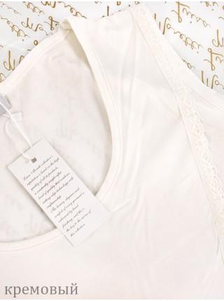 Стильная нежная пижама Luisa Moretti (ESC 3029) (крем, розовый, темно-сиреневый)