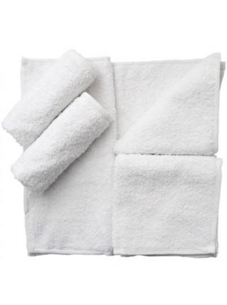 Махровая салфетка для рук. 30х30 см. Цвет белый (ET) (белый)