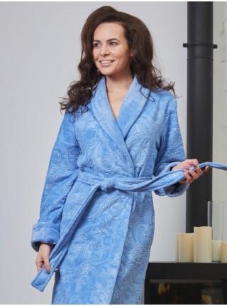 Махровый халат Belinda (EFW) (фиалка)