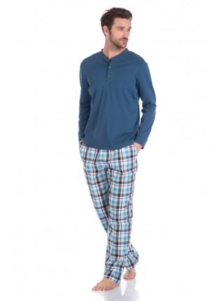 Домашний костюм - пижама BOSS №27 (PM 2136/6) (indigo (синий комбинированный))