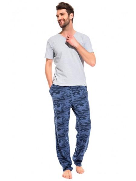 Легкие трикотажные брюки Marine Militaire (PM France 042) (кмф синий)