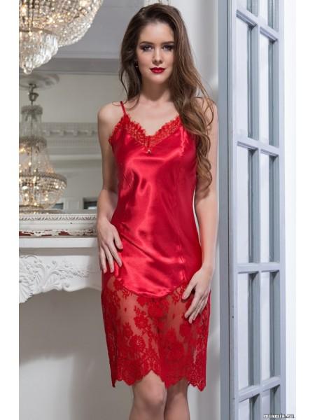 Шелковая сорочка Flamenco (EM 2084) (красный)