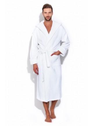 Мужской махровый халат белый, серия SPA. (Белый)