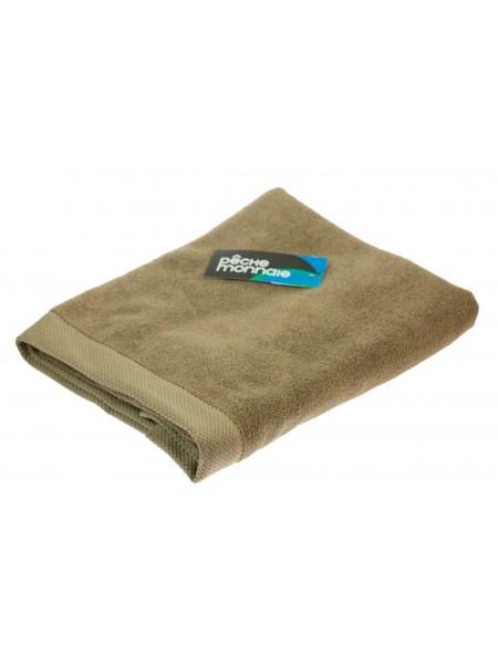 Банное махровое полотенце из микро-коттона OLYMPUS (PM) 70x140 см. (хаки (оливковый))