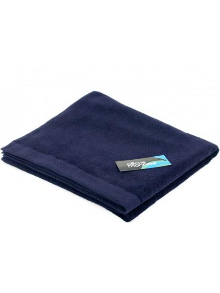 Большое махровое полотенце из микро-коттона OLYMPUS 85х150 (PM France) (чернильный-синий)