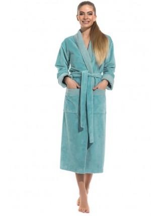 Шикарный бамбуковый халат Belette (PM France 735) (ментол)