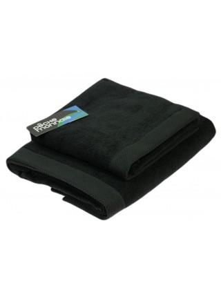 Банное махровое полотенце из микро-коттона OLYMPUS (PM) 50x100 см. (черный)