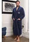 Махровый халат из бамбука Cardinal (EFW) (джинс)