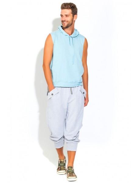 Футболка и шорты FLEXY (PM France 34) (голубой и серый)