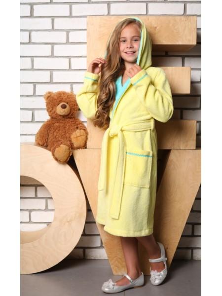 Детский махровый халат Mimi (EFW) (лимон)