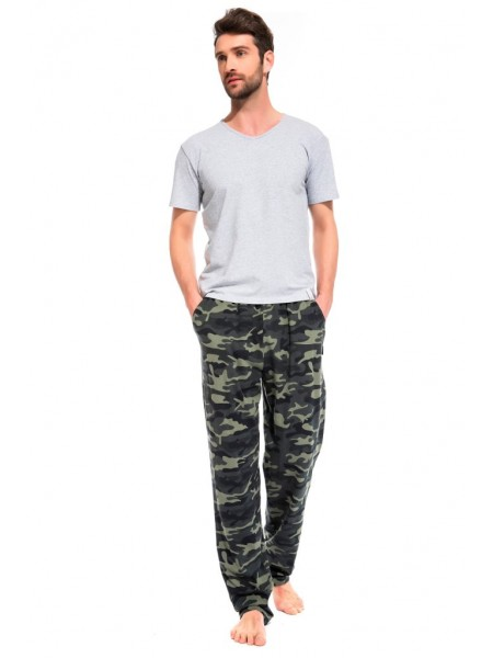 Легкие трикотажные брюки Forêt Militaire (PM France 042) (кмф милитари)
