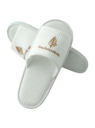 Тапочки с логотипом (EVA) (белый)