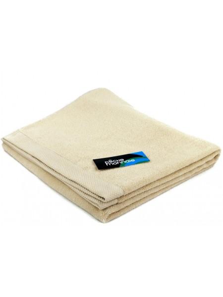 Большое махровое полотенце из микро-коттона OLYMPUS 85х150 (PM France) (бежевый)