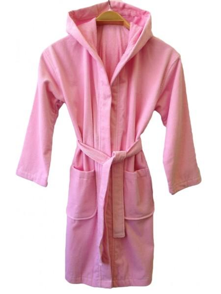 """Детский халат для девочки """"ROSE"""" (EVA) (нежно-розовый)"""