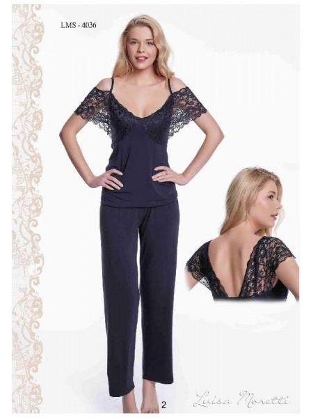 Пижама Luisa Moretti (ESC 4036) (черный)