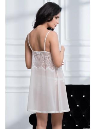 Шифоновая сорочка Afrodita (EM 2164) (белый)